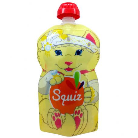 Gourde Squiz réutilisable 130ml Chat
