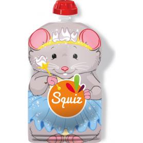 Gourde Squiz réutilisable 130ml Souris
