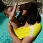Porte-bébé tube Aquabulle Jaune de Neobulle