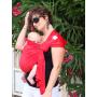 Porte-bébé sling Sukkiri Rouge