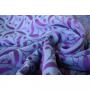Echarpe de portage Yaro Retro Berry Purple Mint Tencel