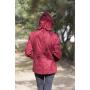 Manteau de portage 4 en 1 Momawo Rouge