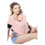 Echarpe de portage JPMBB Basic Tattoo Rose Nude