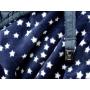 Couverture de portage 3 en 1 Bleu Marine Etoiles Lucky