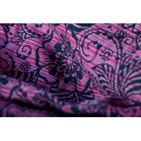 Ring Sling Yaro Ava Contra Black Pink Random Wool