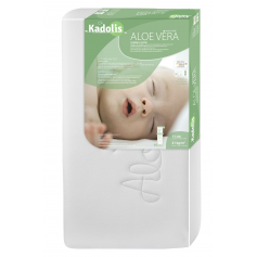 Matelas bébé Bioline Aloé Vera de Kadolis