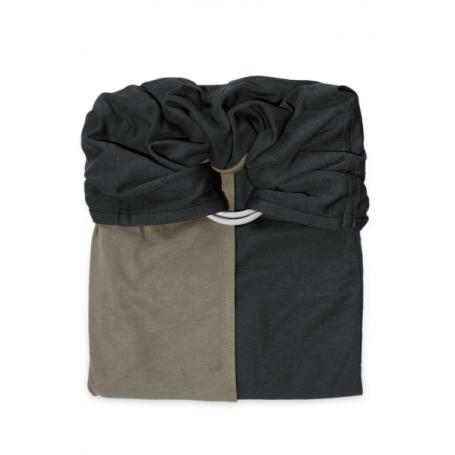 La Petite Echarpe Sans Noeud (PESN) Anthracite, Olive