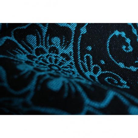 Echarpe de portage Yaro Ava Contra Black-Blue Glam