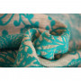 Echarpe de portage Yaro Chrys Puffy Aqua Natural Hemp