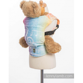 Porte-poupon Lennylamb Symphony Rainbow Light
