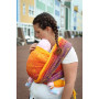 Ring Sling Yaro Tropical Fire Grad Peach Tencel