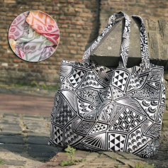 Sac Yaro Shopper La Vita Autumn Rainbow