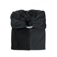 La Petite Echarpe Sans Noeud (PESN) Anthracite, Noir