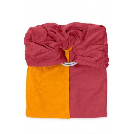 La Petite Echarpe Sans Noeud (PESN) Rouge Grenat Mangue