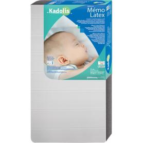 Matelas bébé MemoLatex de Kadolis