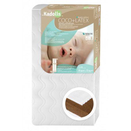 Matelas bébé Coco Latex de Kadolis