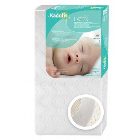 Matelas bébé Latex de Kadolis