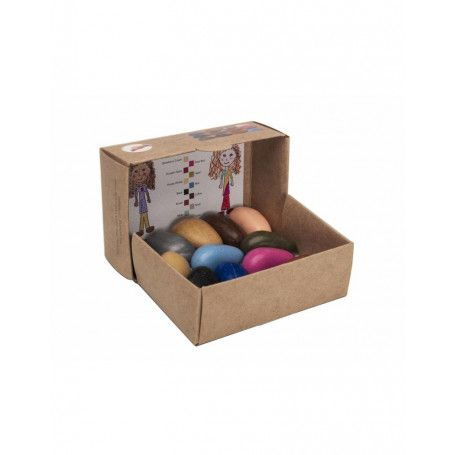 Coffret de 12 Crayon Rocks People Pebbles