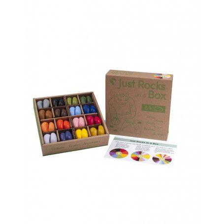 Coffret de 64 Crayon Rocks - 16 couleurs