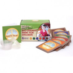 Grand Kit Enfant de peinture naturelle Natural Earth Paint