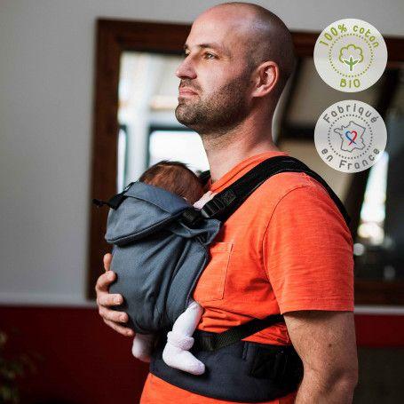Porte-bébé préformé évolutif Néo Galet de Néobulle