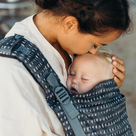 Porte-bébé evolutif Boba X Denim Rain