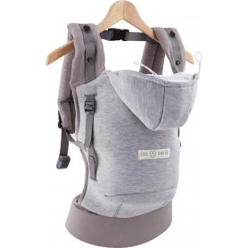 Porte-bébé physio Love Radius (JPMBB) Hoodie Carrier Gris Athlétique