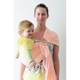 Ring Sling Daicaling Abricot de Ling Ling d'Amour