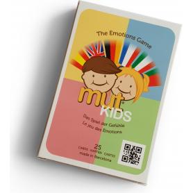 Jeu de cartes Questions sur les Emotions de Mut Kids