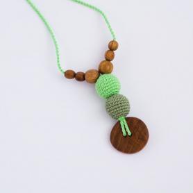 Collier de portage et d'allaitement Kangaroocare Green