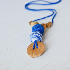 Collier de portage et d'allaitement Kangaroocare Shades of Blue