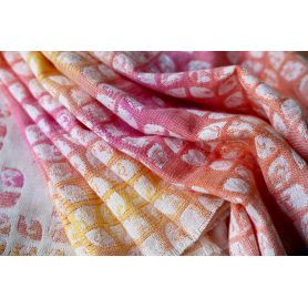 Ring Sling Yaro Petals Ultra Cotton Candy Rainbow