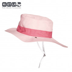 Chapeau reversible Anti-UV Kapel Panama Pink