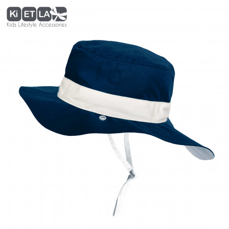 Chapeau reversible Anti-UV Kapel Panama Navy