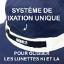 Chapeau reversible Anti-UV Kapel Panama Navy