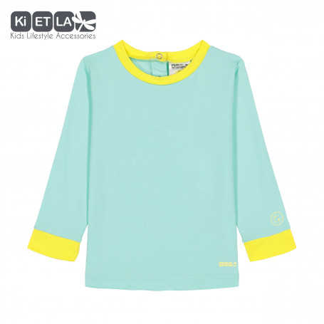 T-shirt Anti-UV Top Green Yellow de KietLa