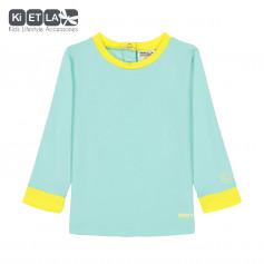 T-shirt Anti-UV Top Green Yellow de KietLa