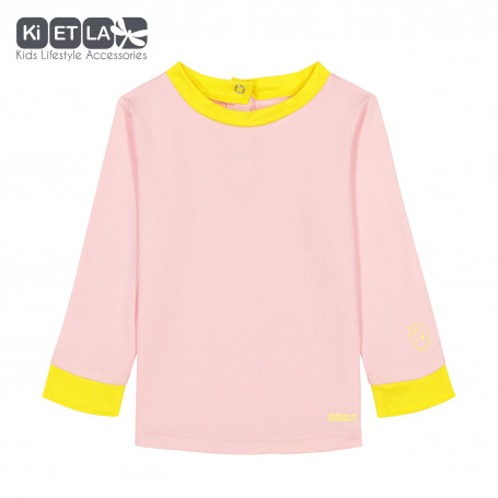 T-shirt Anti-UV Top Pop Pink Yellow de KietLa