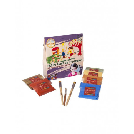 Petit Kit Enfant de peinture naturelle Natural Earth Paint