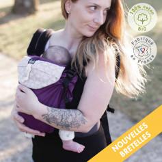 Porte-bébé préformé évolutif Néo Zinzolin Edition limitee de Néobulle