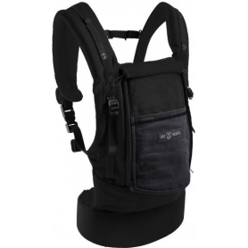 Physiocarrier Coton Noir poche Anthracite Love Radius by JPMBB