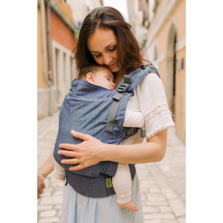 Porte-bébé evolutif Boba X Chambray Edition Limitee