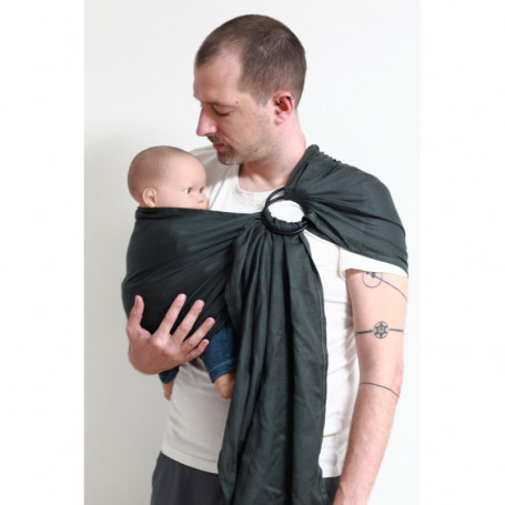 Ring Sling Daicaling Anthracite de Ling Ling d'Amour