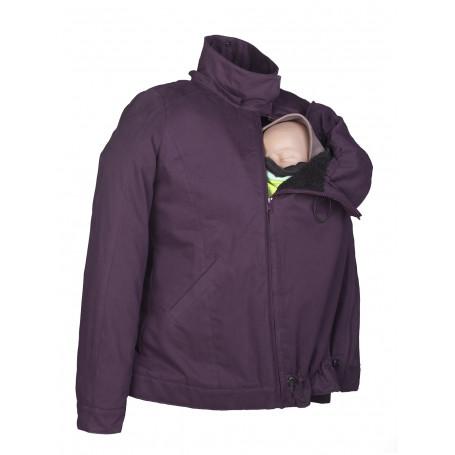 Manteau de portage 4 en 1 Momawo Violet