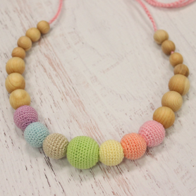 Collier de portage et d'allaitement Kangaroocare Neutral Simple Rainbow
