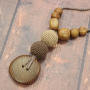 Collier de portage et d'allaitement Kangaroocare Cappuccino