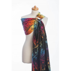 Ring Sling Dragonfly Rainbow Dark de Lennylamb