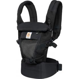 Porte-bébé évolutif Ergobaby Adapt Onyx Black Cool Air Mesh