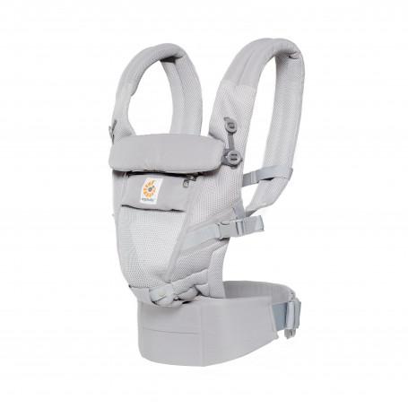 Porte-bébé évolutif Ergobaby Adapt Pearl Grey Cool Air Mesh