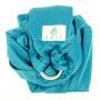 Porte-bébé sling Sukkiri Bleu Emeraude
